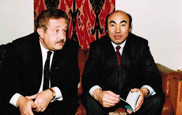 Борис Бирштейн жана Аскар Акаев