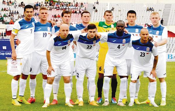 Футбол боюнча Кыргызстандын курама командасы