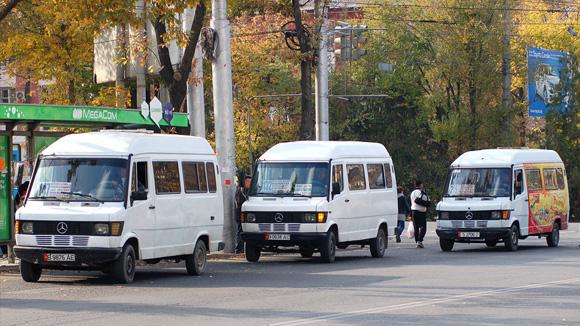 Коомдук транспорт, Бишкек