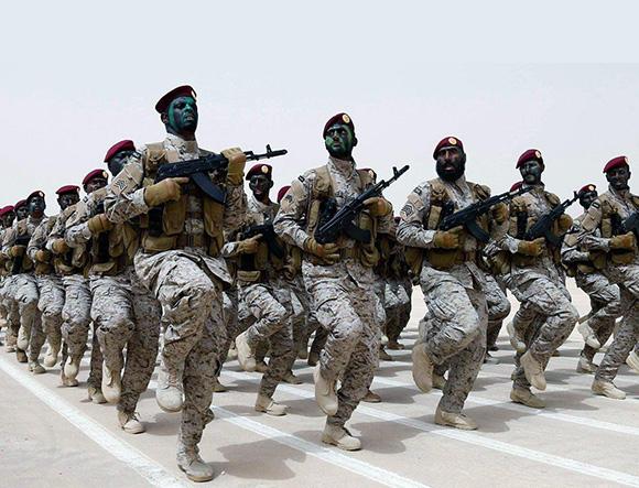 Сауд аскерлери