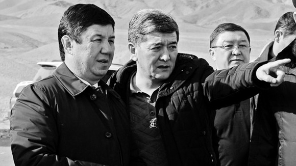 Темир Сариев жана Аргынбек Малабаев