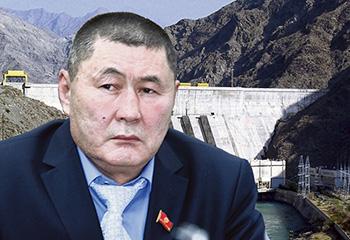 Автандил Кулбараков жана ГЭС