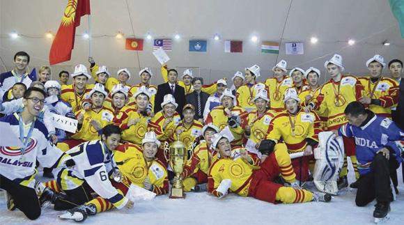 Кыргызстандын хоккей боюнча курама командасы
