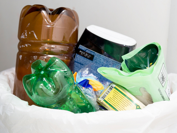 пластик таштанды