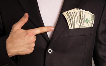 чөнтөктөгү доллар, акча