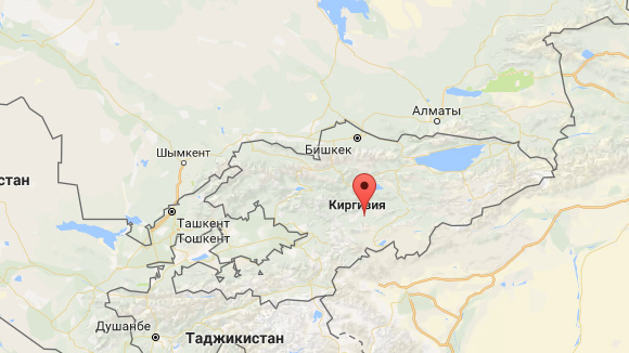 Кыргызстан Борбордук Азияда