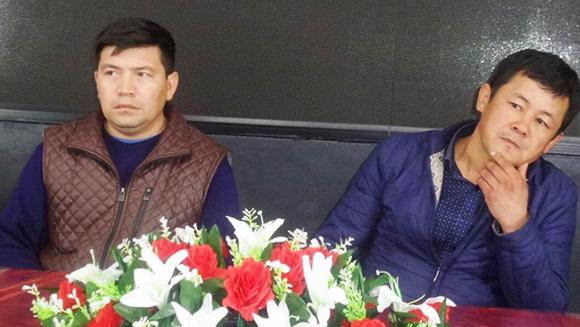 Марат Исаков жана Нургазы Бакаев