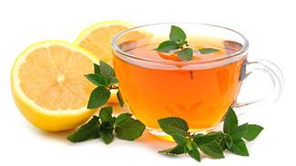 чай жана лимон
