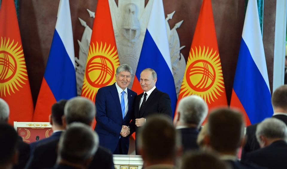 Атамбаев жана Путин
